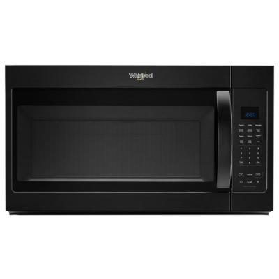 1.9 cu. ft. Over the Range Microwave in Black with Sensor Cooking and Steam