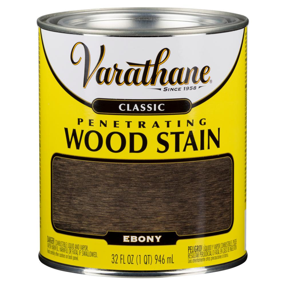 1 qt. Ebony Classic Wood Interior Stain