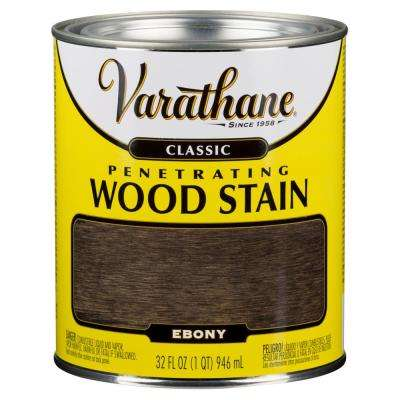 1 qt. Ebony Classic Wood Interior Stain (2-Pack)