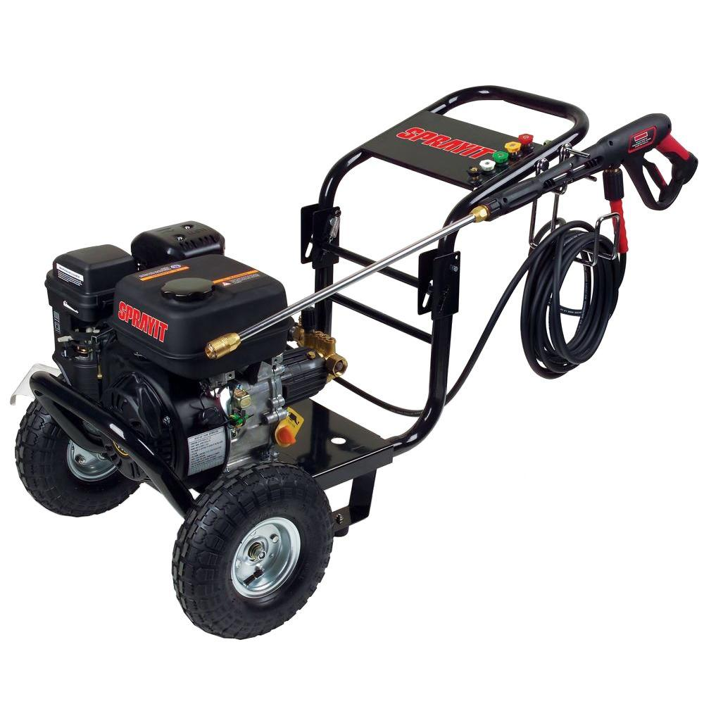 SP-54002 2500-psi 2.4-GPM Portable Cold Water Gas Pressure Washer