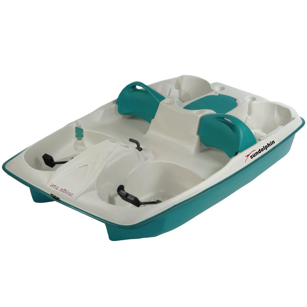 Sun Dolphin Sun Slider Stainless Steel 5-Person Pedal Boat