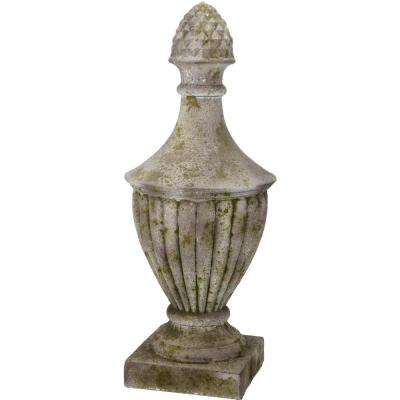 25 in. Magnesia Finial
