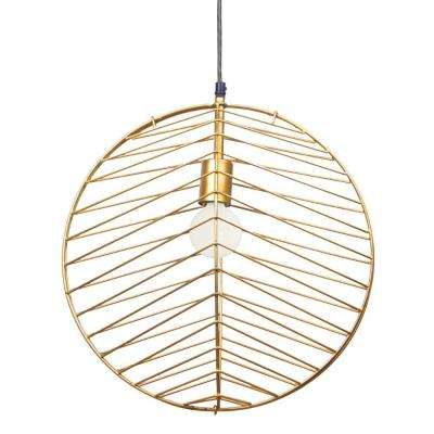 Ragtime 1-Light Black Pendant