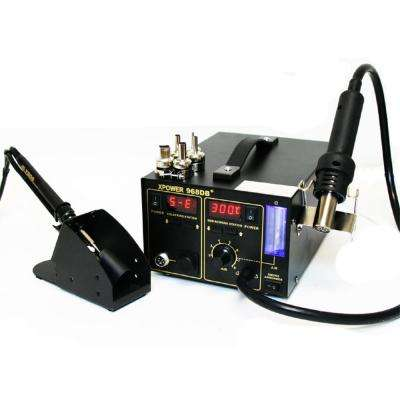 3-in-1 968DB Rework Soldering Station Includes Hot air Rework and Power Supply
