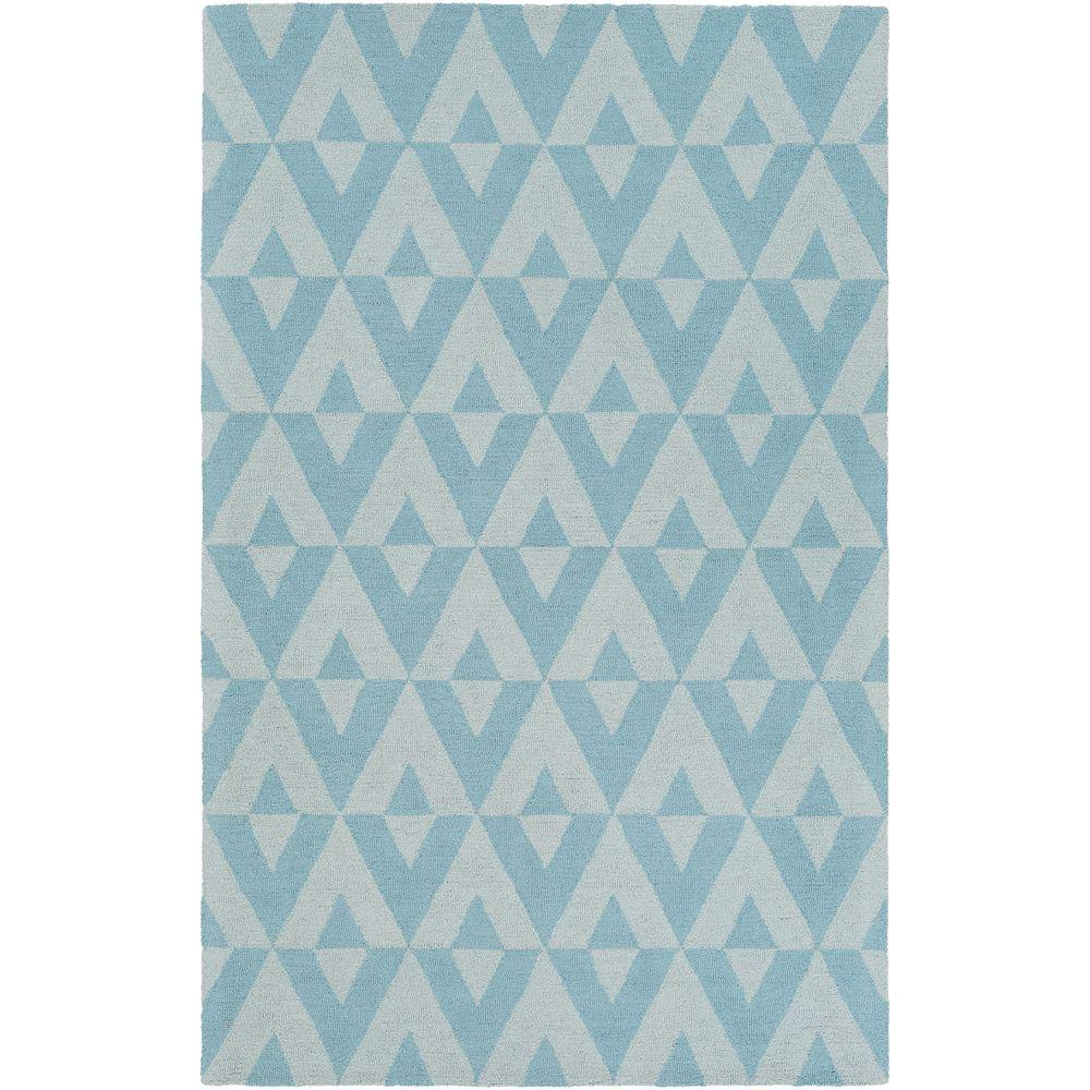 Impression Andie Blue 5 ft. x 8 ft. Indoor Area Rug