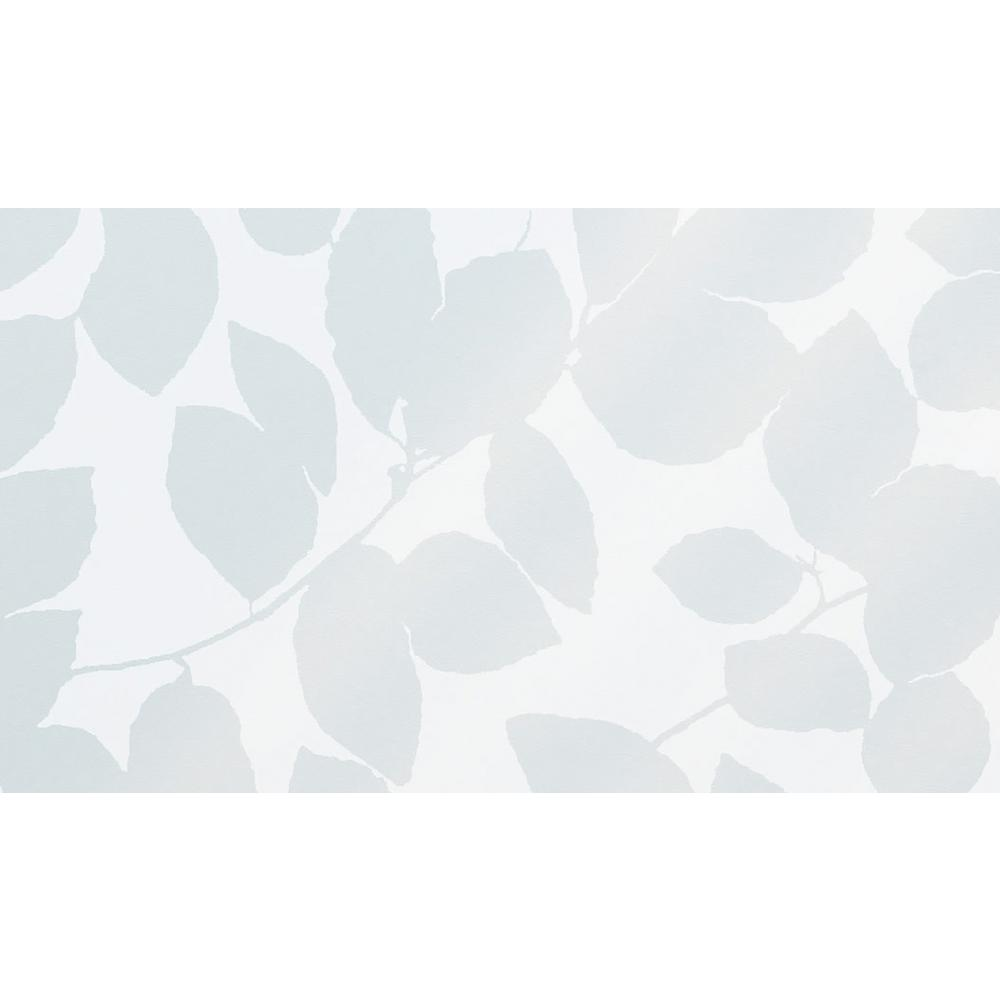 Fablon 59 in. x 26.57 in. Leaf Static Window Film Bring the alluring touch of nature to your plain glass surfaces with this leaf textured static cling. A perfect way to add privacy and decoration to your bathroom. or kitchen windows. Static cling window film is easy to apply and remove- simply cut to size, spray water on to the window, and squeegee into position. Just peel off when you want to change your design. The Leaf Window Static Cling comes on a 26.57 in. x 59 in. roll that can be cut to fit any area.
