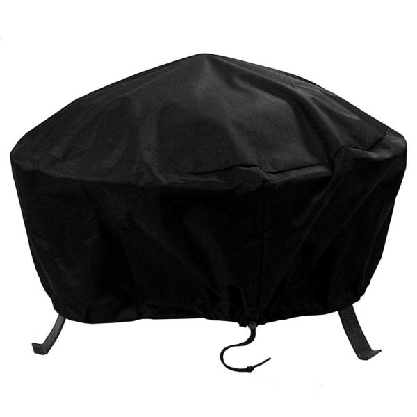 36 in. Durable Weather-Resistant Round Fire Pit Cover