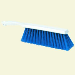 Carlisle 13 inch Polyester Blue Bench and Counter Brush (Case of 12) by Carlisle