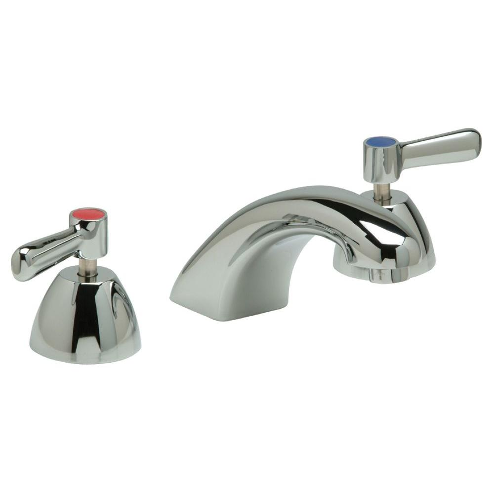 Zurn AquaSense 8 in. Widespread 2-Handle Low-Arc Bathroom Faucet in Chrome