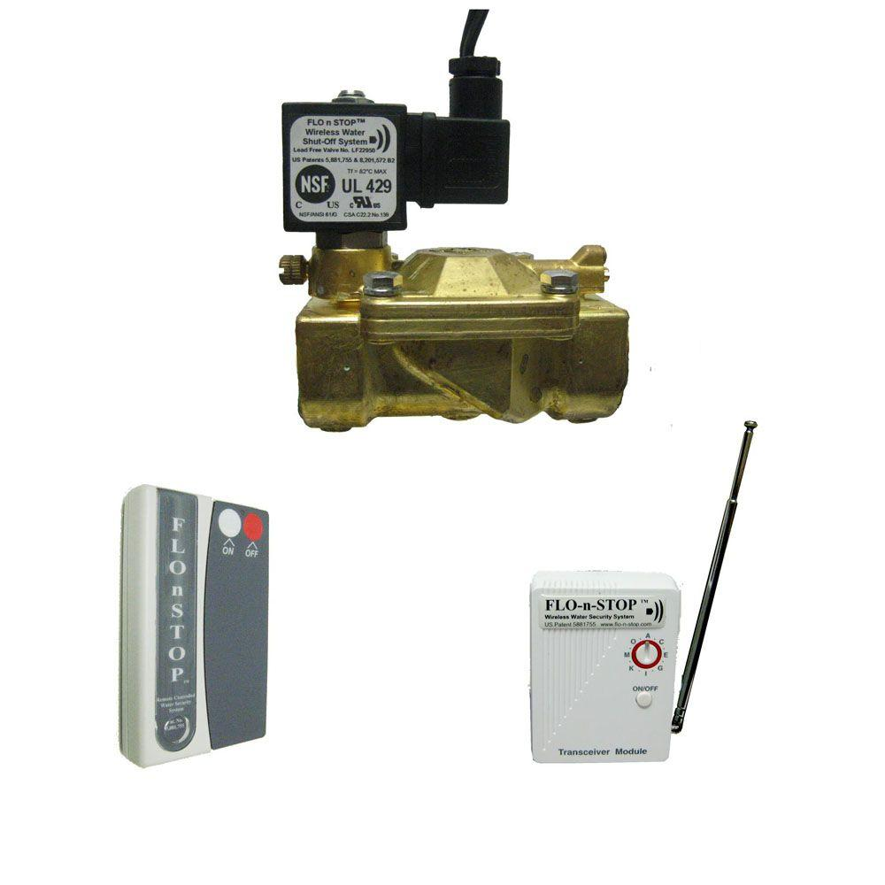 Total Household Remote Controlled Wireless Water Shut Off System Drinking Alarm Circuit With Up To 16 Different Signals