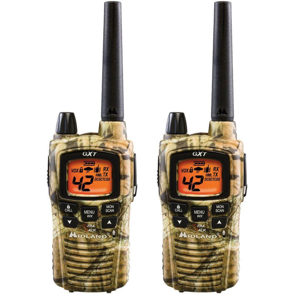 Midland 36-Mile 42 Channel 2-Way Radios - Camo (2-Pack)