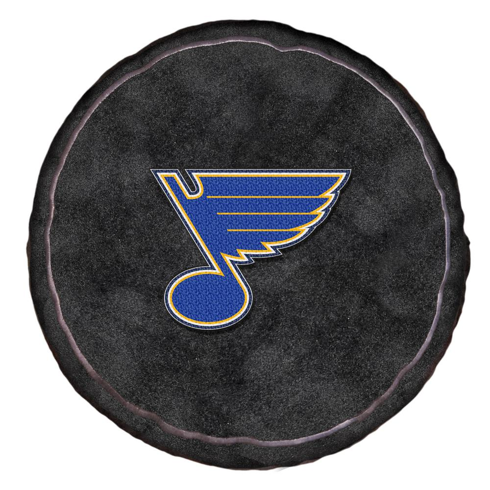 d8418b68f NHL Blues Multi-Color Polyester 15 in. 3D Sports Pillow-1NHL199000021RET -  The Home Depot