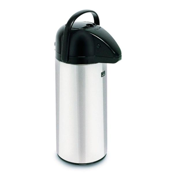 2.2L Push Button Airport, Glass Lined, 28696.0002