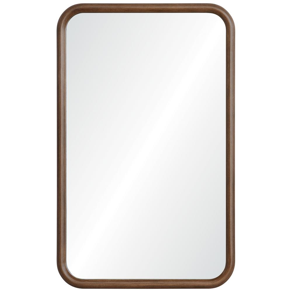 Dickens 32 in. x 20 in. Framed Wall Mirror