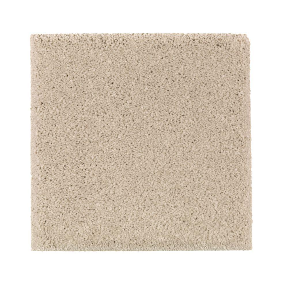 Petproof carpet sample gazelle ii color dry gourd for Pet resistant carpet