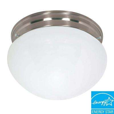 Concord 2-Light Brushed Nickel Flush Mount