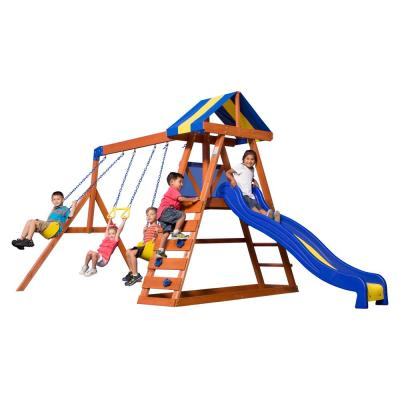 Backyard Discovery Woodridge Ii All Cedar Playset 6815com The Home