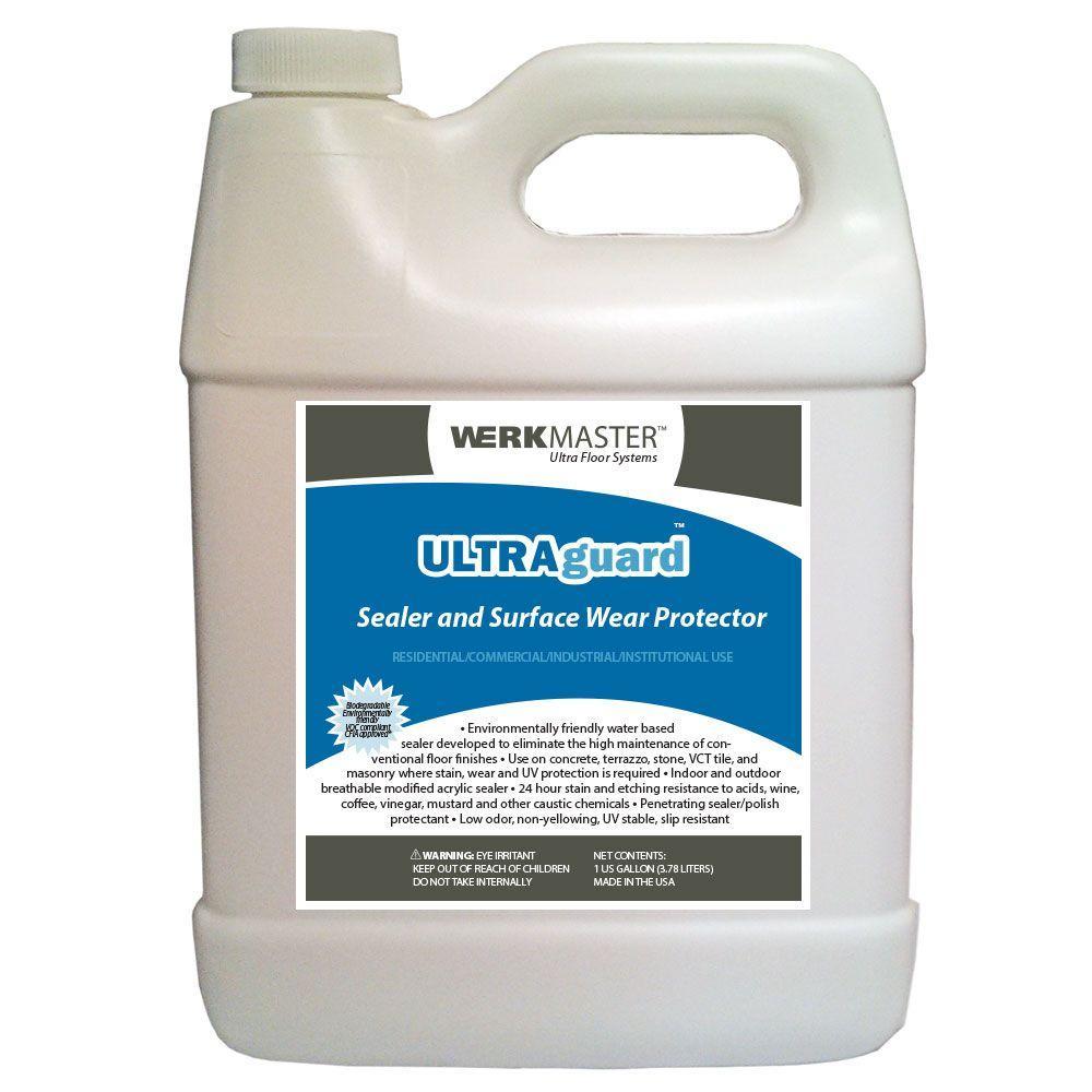 1 Qt. ULTRAguard Concrete Sealer and Surface Wear Protector