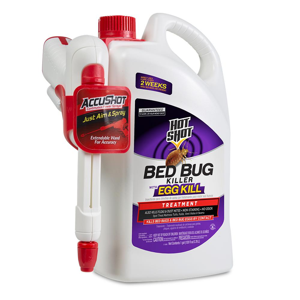 bed bug and flea killer 1 gal readytouse accushot sprayer