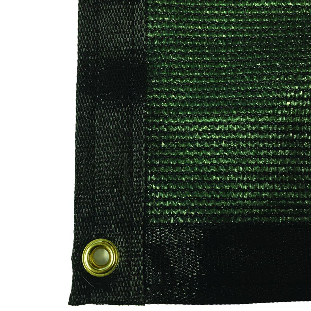 5.8 ft. x 30 ft. Green 88% Shade Protection Knitted Privacy