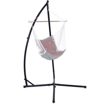 3.7 ft. Steel X-Stand for Hanging Hammock Chairs