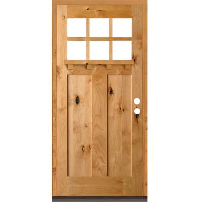 24 x 80 Inches Unfinished Pine LTL Home Products 840720 Craftsman Bifold Interior Wood Door