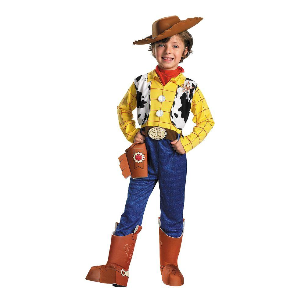 Disguise 4t Boys Deluxe Toy Story 3 Woody Costume Di5234 T34t