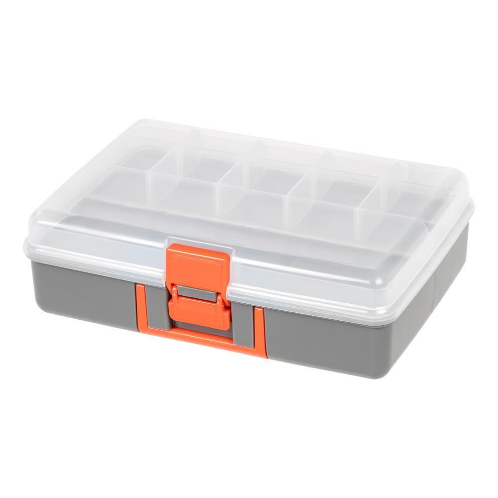 Medium Utility Storage Case in Gray (2-Pack)