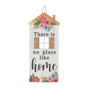 15 in. x 7 in. There's No Place Like Home Sign