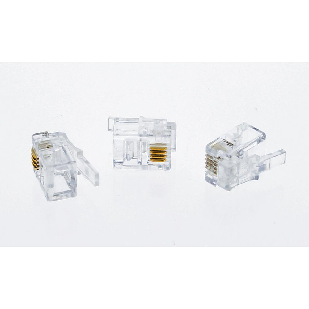 Ideal RJ11 Modular Plugs (25-Pack)