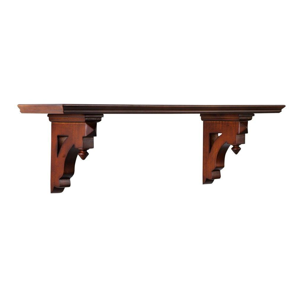 Martha Stewart Living Solutions 9.5 in H x 33.5 in. W Sequoia Country Decorative Shelf