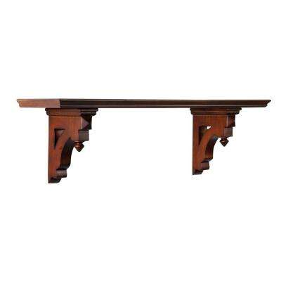 Solutions 9.5 in H x 33.5 in. W Sequoia Country Decorative Shelf