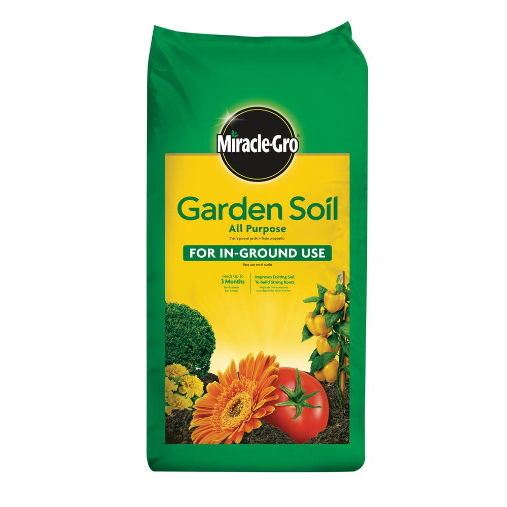 Miracle gro 2 cu ft all purpose garden soil 75052430 - Home depot miracle gro garden soil ...