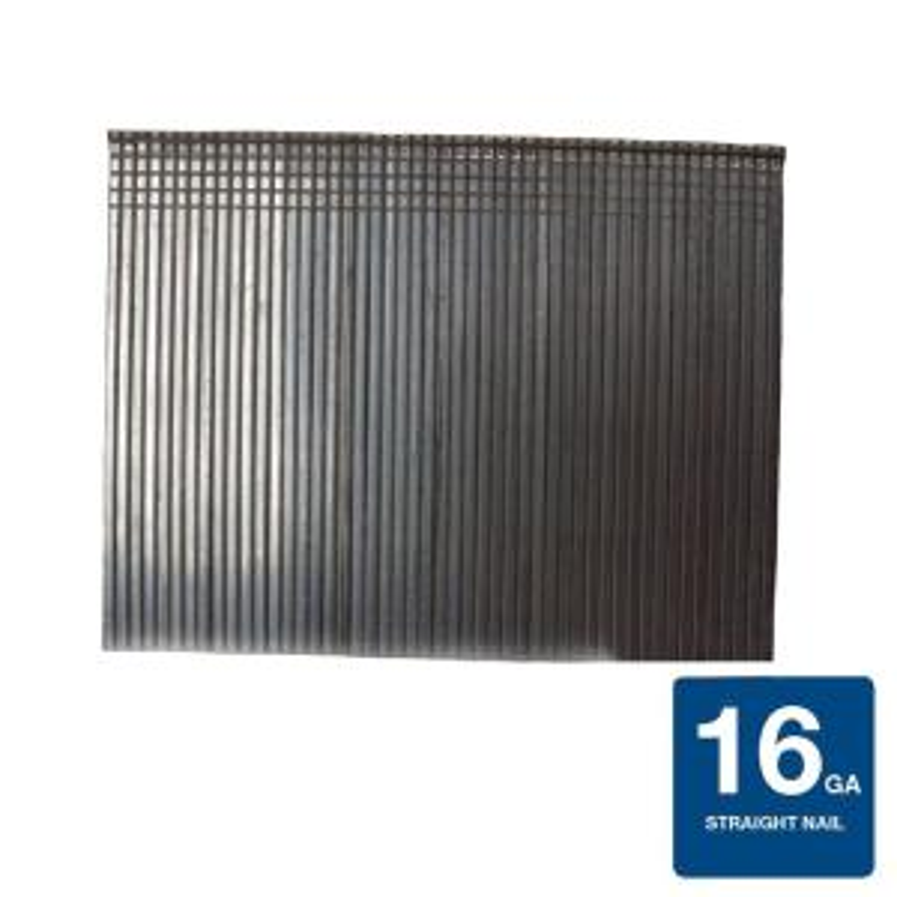 2 in. x 16-Gauge Electro-Galvanized Steel Finish Nails (4,000 per Box)