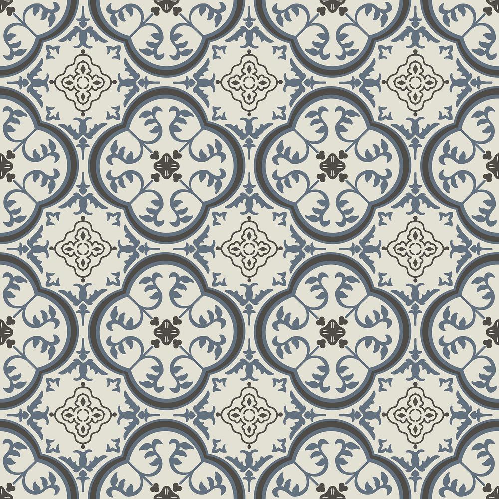 Blue Vinyl Sheet Flooring