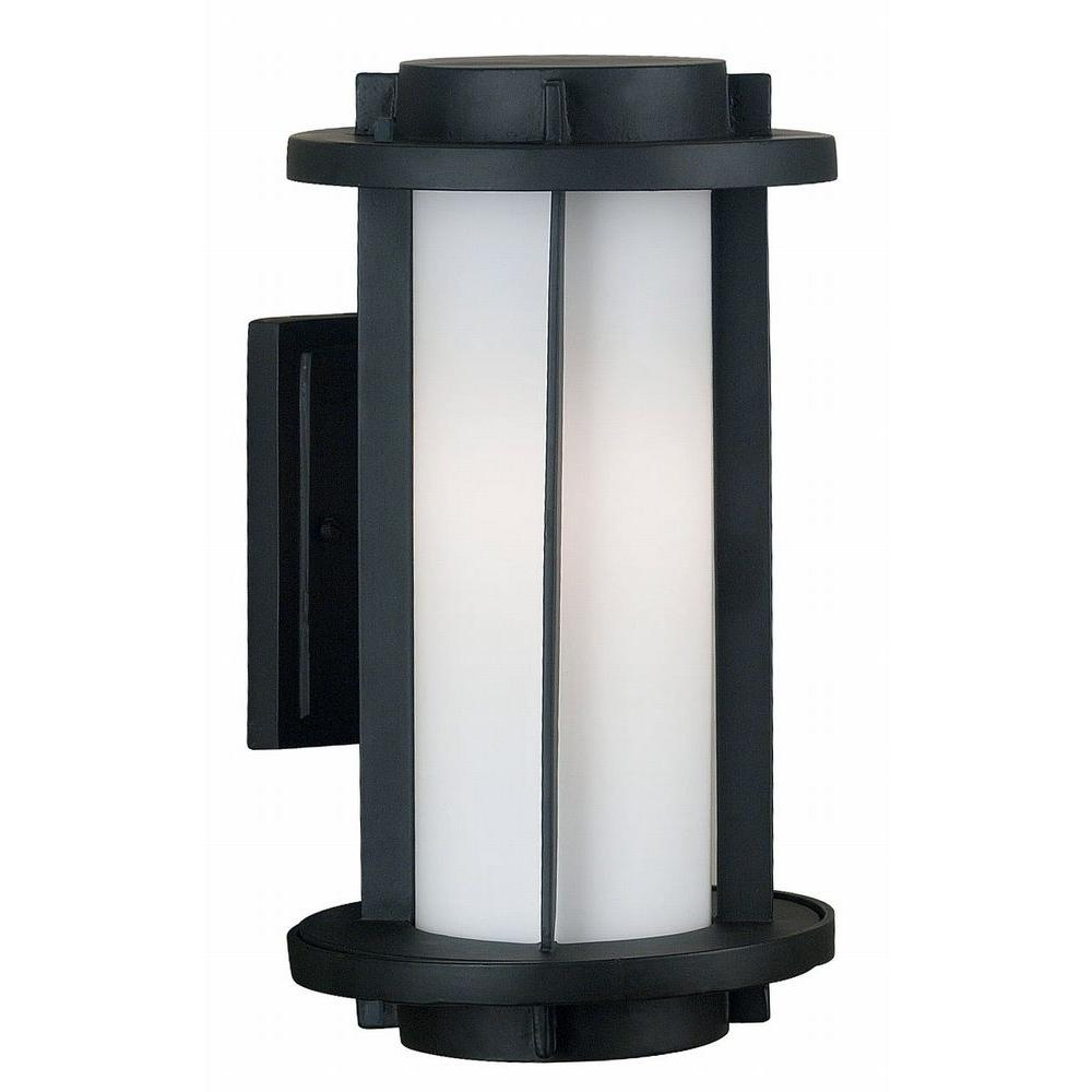 Kenroy Home Lumi 2-Light 15 in. Espresso Bronze Wall Lantern-DISCONTINUED