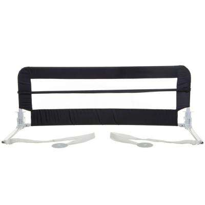 Navy 43 in. Harrogate Extra Bed Rail for Toddler, Twin, Standard and Queen Beds