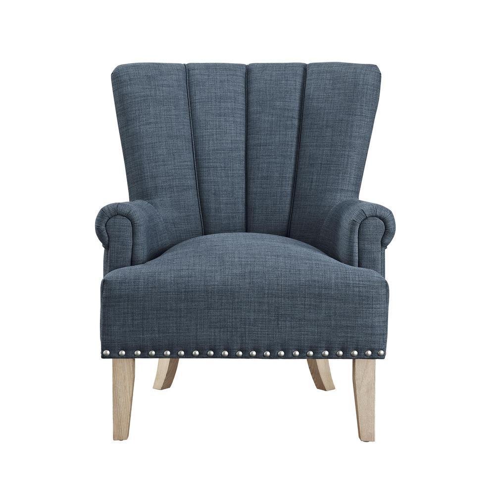 Dani Blue Accent Chair