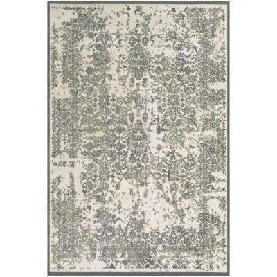 Ursa Seafoam 7 ft. 10 in. x 10 ft. 4 in. Distressed Area Rug