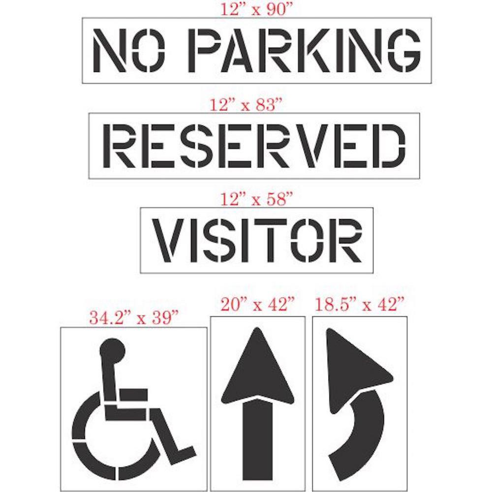 6-Piece Parking Lot Starter Kit