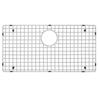 27-1/2 in. x 15-1/2 in. Stainless Steel Bottom Grid