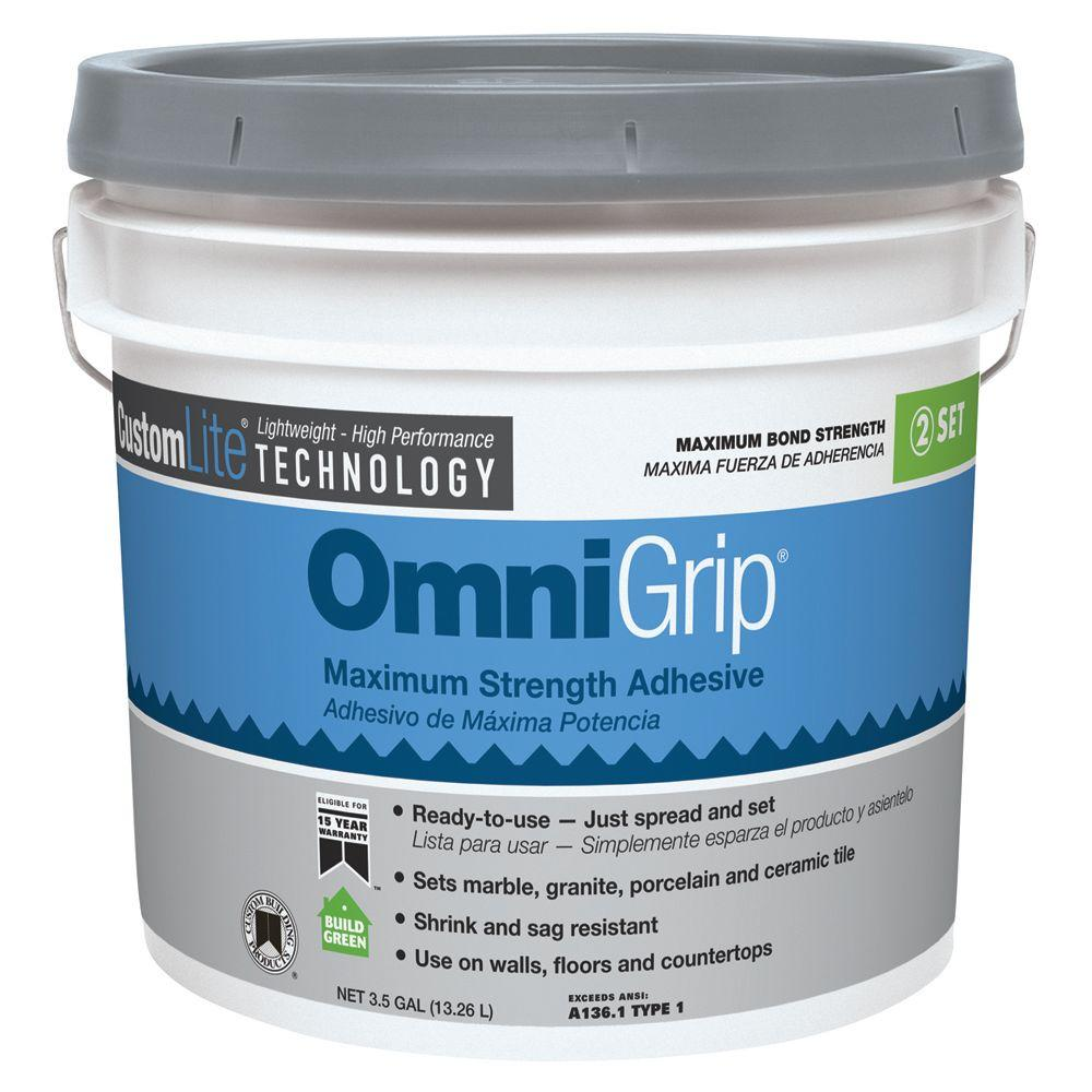 Custom Building Products OmniGrip 3-1/2 Gal. Maximum Strength Adhesive