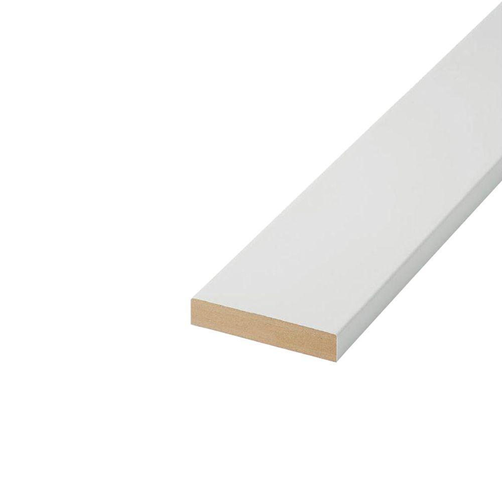 1 in. x 4 in. x 16 ft. 2EE MDF Board