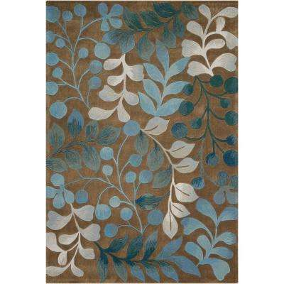 Contour Mocca 8 ft. x 11 ft. Area Rug