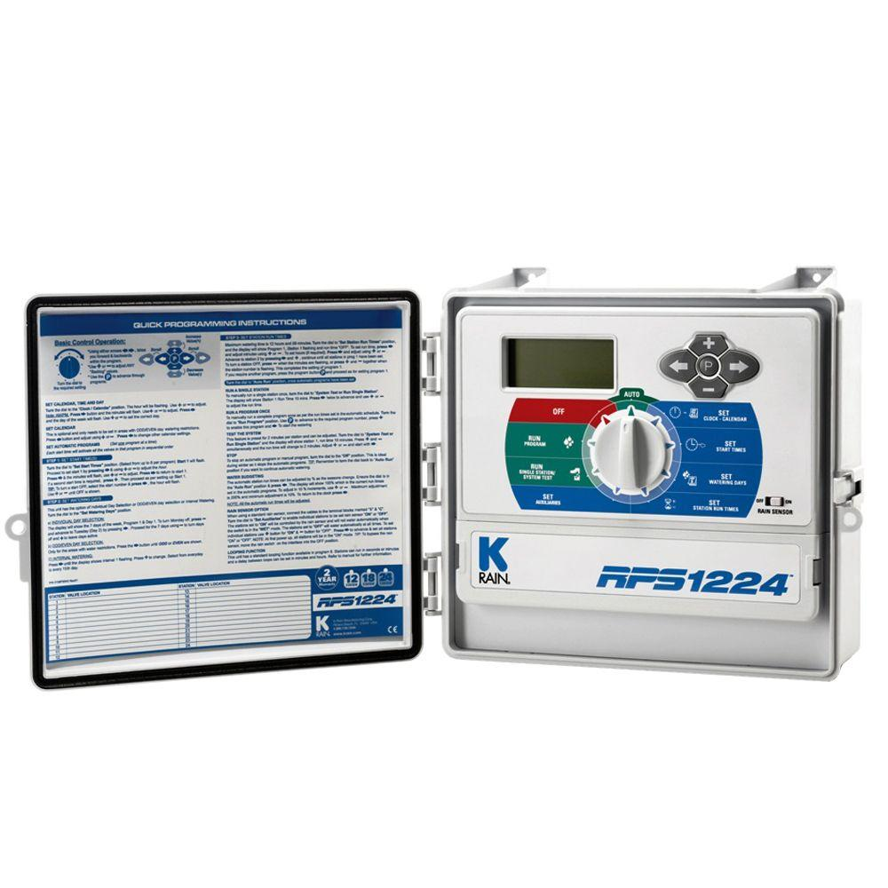 K-Rain RPS1224 24 Station Outdoor Sprinkler Timer
