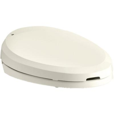 C3 201 Electric Bidet Seat for Elongated Toilets in Biscuit