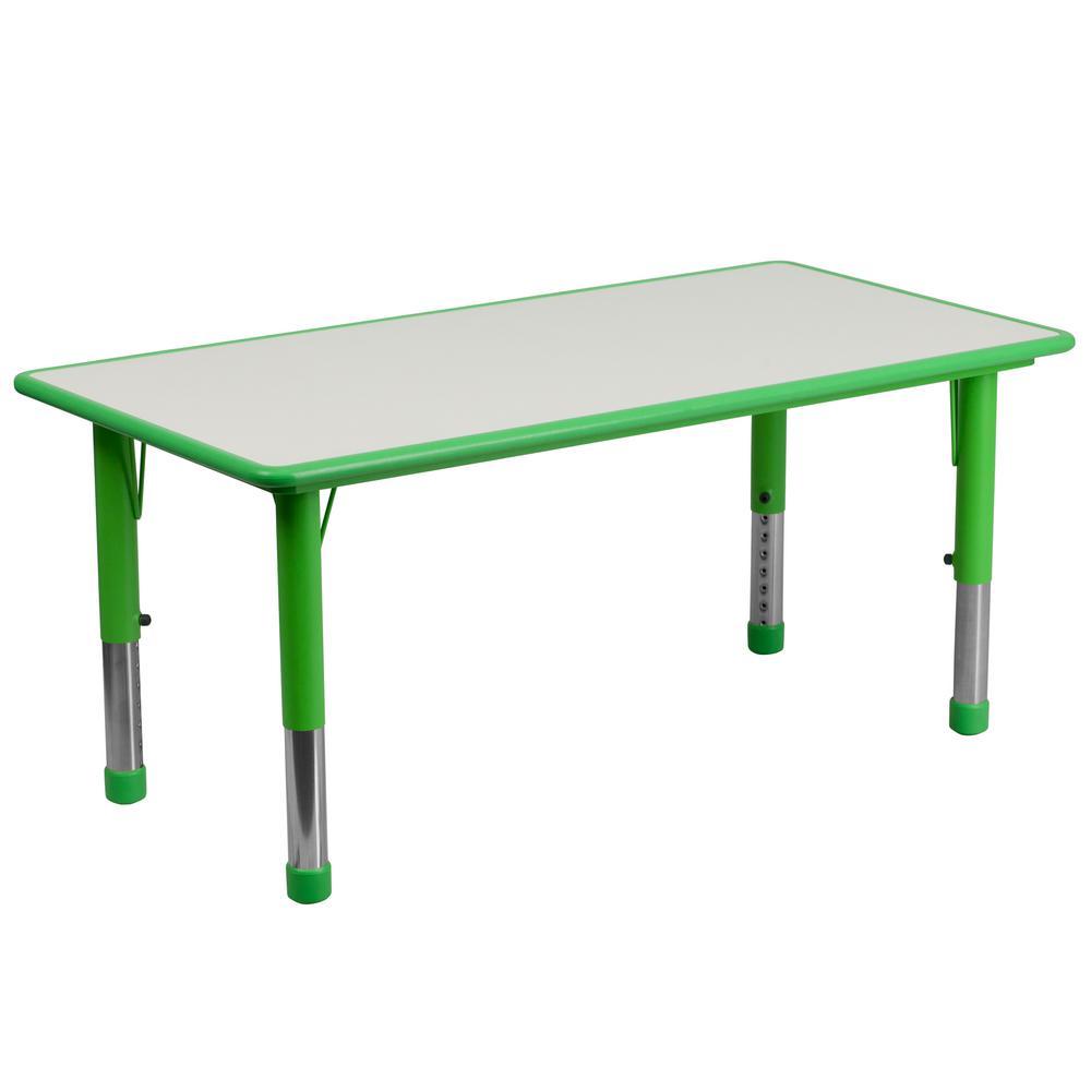 Flash Furniture Green Kids Table CGA-YU-20592-GR-HD