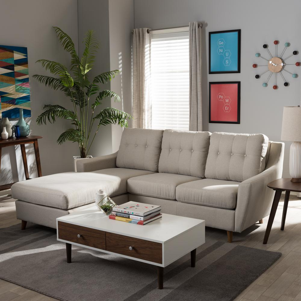 Baxton studio mckenzie 2 piece contemporary beige fabric upholstered left facing chase sectional sofa 28862 7298 hd the home depot