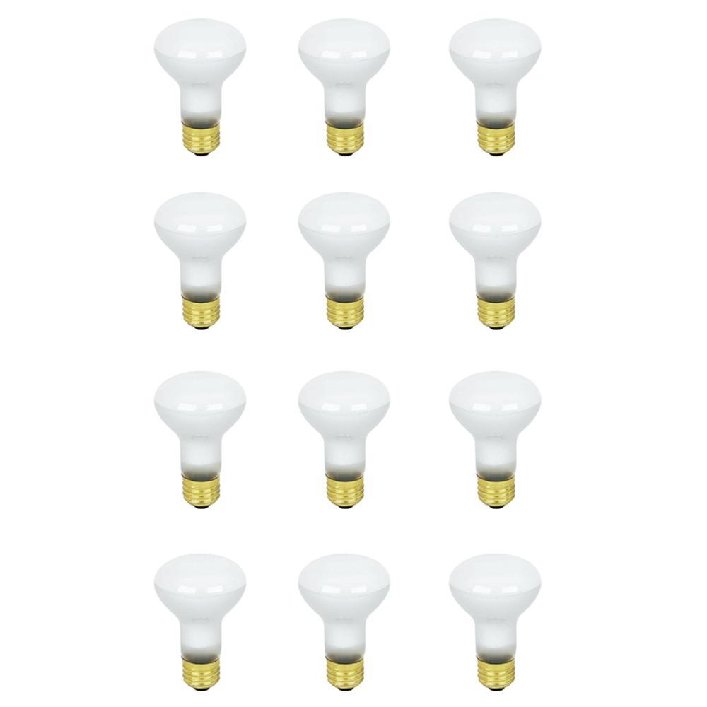 45-Watt Soft White (2700K) R20 Dimmable Incandescent Flood Light Bulb Maintenance Pack (12-Pack)
