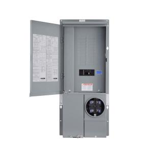 Square D by Schneider Electric SC2040M200C Home line Square D All-In-One Combination Load Center 200 A 120//240 Vac
